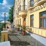 Hotel Jean de Carro - terasa